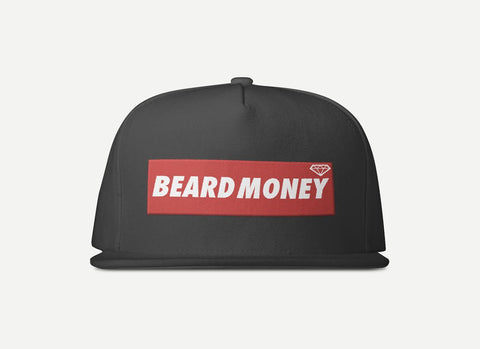 Beard Money Black Red Snapback