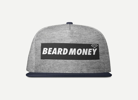 Beard Money Heathered Grey Snapback