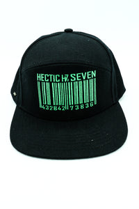 HustlersCode (Black&Green) Cap