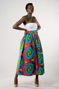 Multi colour skirt