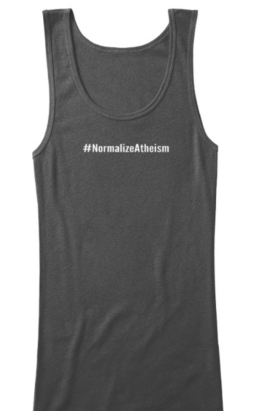 #NormalizeAtheism V-Neck and Tank Top