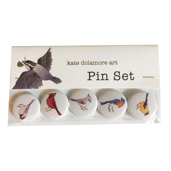 Songbirds Pin Set