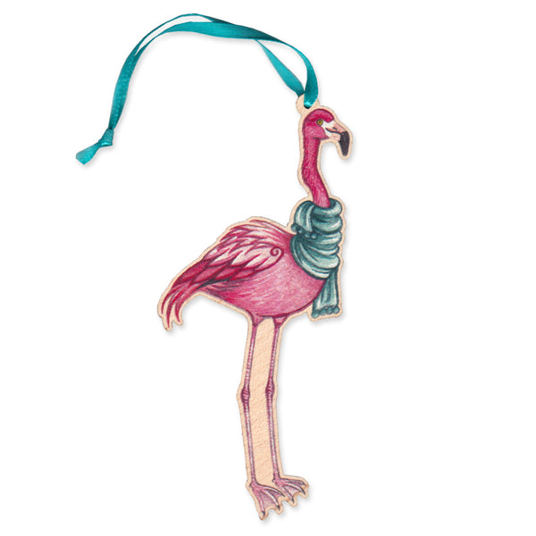 Flamingo Christmas Ornaments