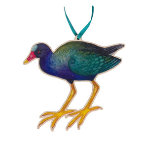 Purple Gallinule Ornament