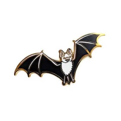 SECONDS Bat Enamel Pin