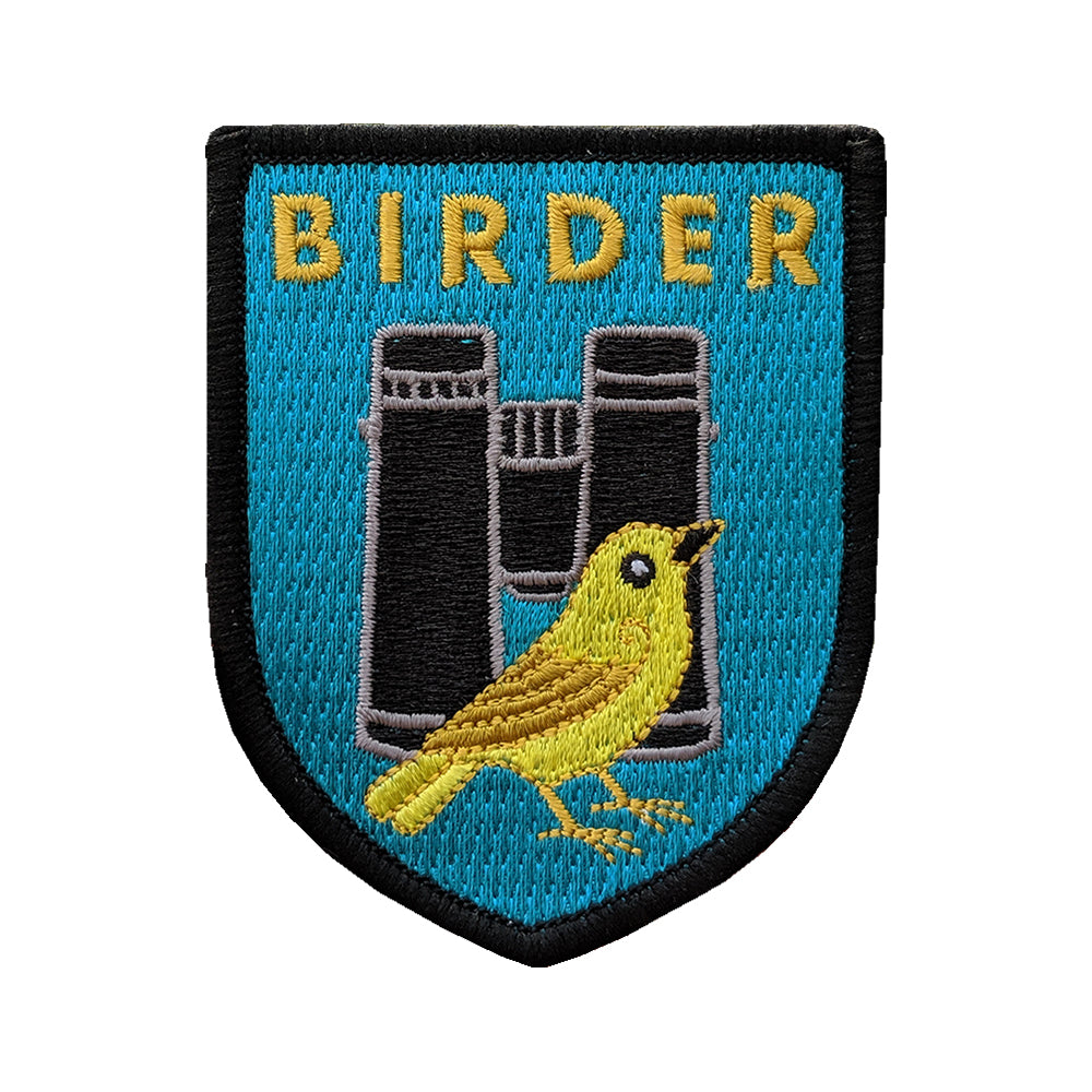 Birder Badge Patch