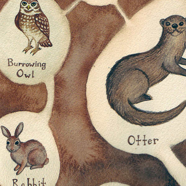 Burrowers Close Up
