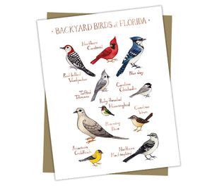 Backyard Birds of Florida Note Cards