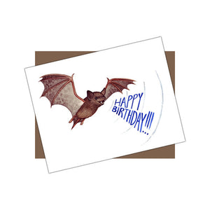 Bat Happy Birthday Card