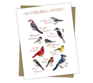 Wholesale Backyard Birds Field Guide Cards: Minnesota