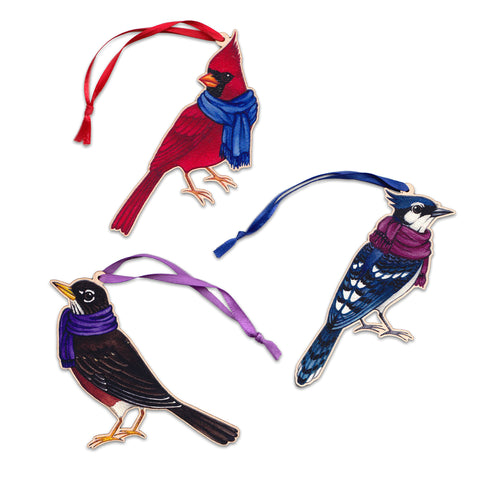 Bird Christmas Ornaments