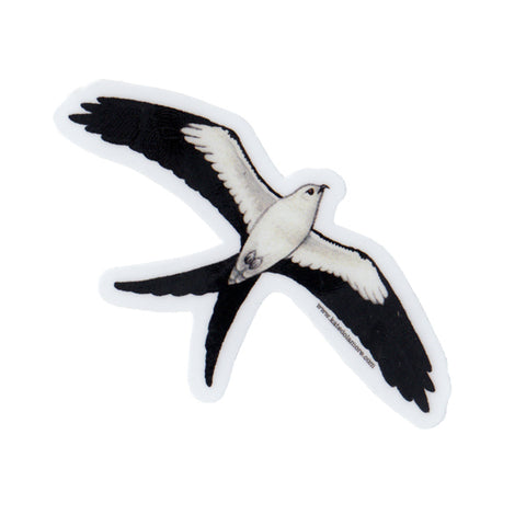 Swallow-tailed Kite Vinyl Sticker