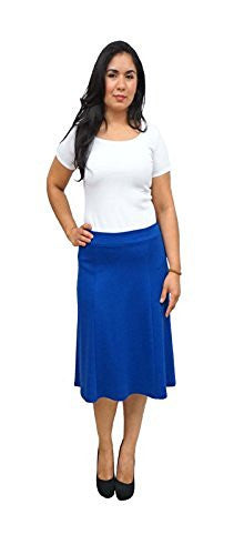 DBG Women's Slim Lady High Waisted A Line Summer Skirt