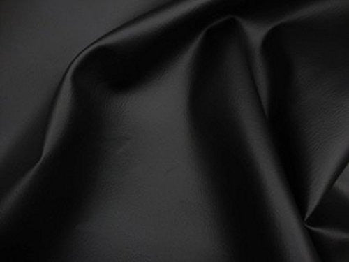 Faux Vinyl Leather Fabric 2 Way Stretch Sold By the Yard