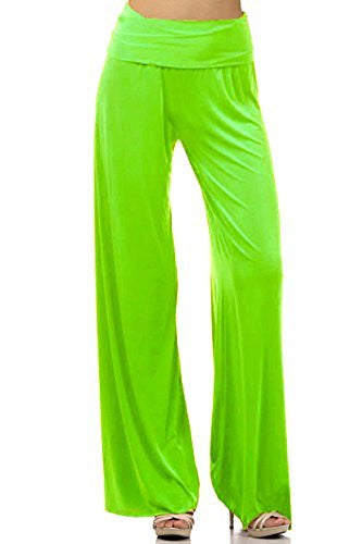DBG Women's Palazzo Cotton Solid Pants