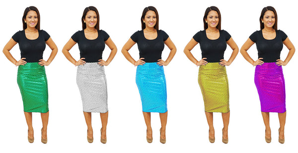 DBG Women's Mermaid Pencil Skirts