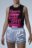 Miami Vice Muay Thai Shorts | Modern Cut