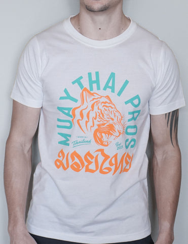 Muay Thai Tiger T Shirt - Tropic Summer