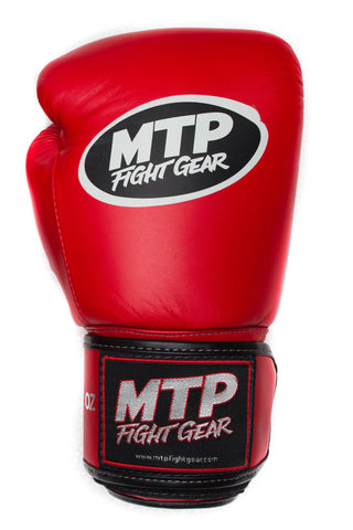 Red Muay Thai Gloves | MTP Classics
