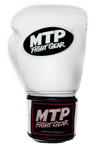 White Muay Thai Gloves | MTP Classics