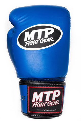Blue Muay Thai Gloves | MTP Classics