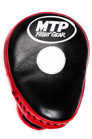 MTP Focus Mitts Curved Style- Black and Red