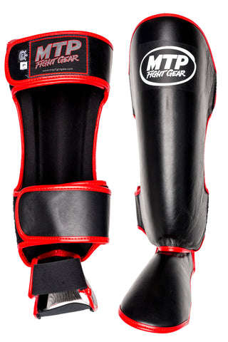 MTP Classic Shin Guards Black