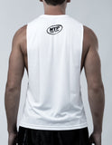 Muay Thai Weapons Sleeveless - White Color