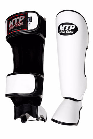 MTP Classic Shin Guards White