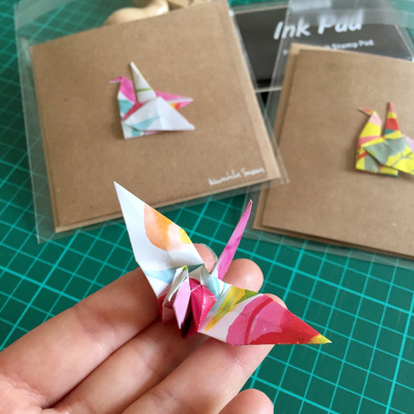 Story of Handmade Origami Greeting Cards: Love, Cringe & Happiness