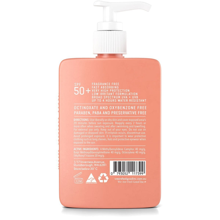 Sensitive Sunscreen SPF 50+ 400ml