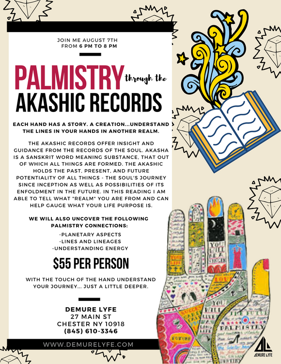 Palmistry Through The Akashic Records