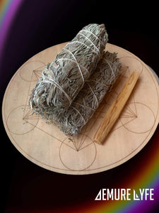 Mountain Sage and Palo Santo Dust Bundles