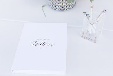 Choosing a pen for your wedding guest book