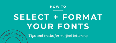 How to Select and format your fonts using our live preview tool