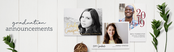 Graduation Announcements & Personalized Commencement Invitations