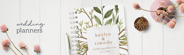 Personalized Wedding Planners & Binders