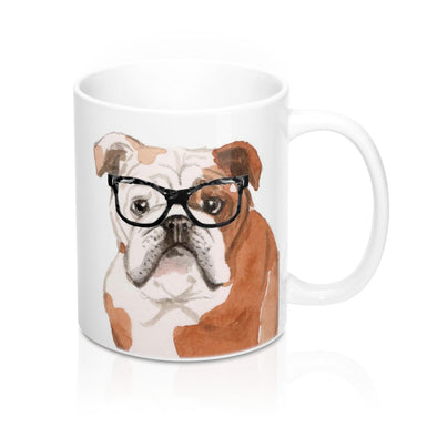 English Bulldog Coffee Mug, 11oz