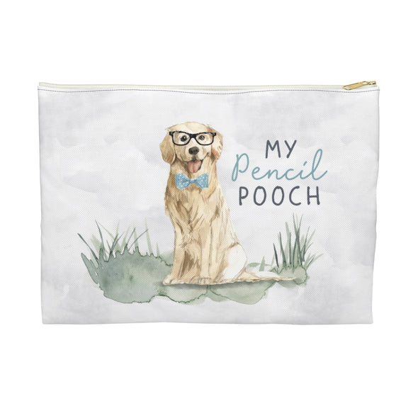 Golden Retriever Pencil Pouch