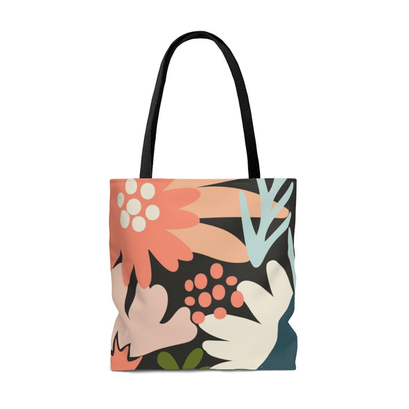Personalized Modern Garden Tote Bag