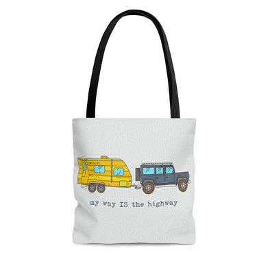 RV Life Travel Tote Bag