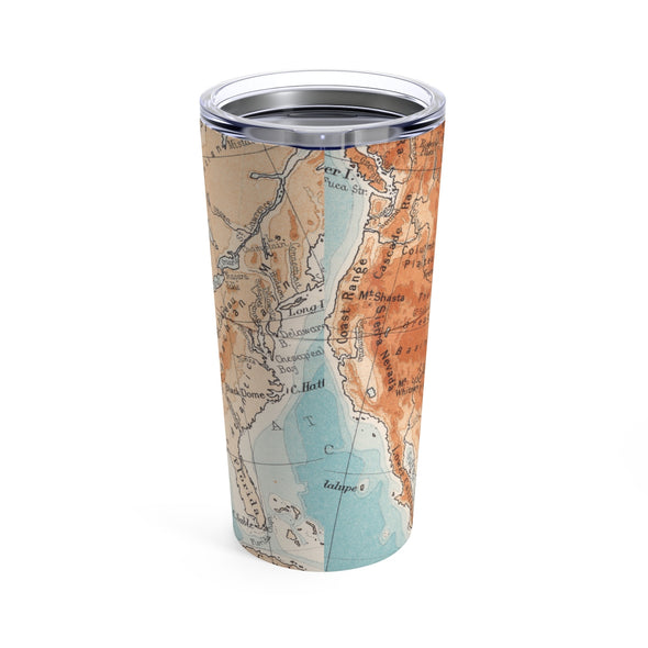 Let's Wander Drink Tumbler, 20 oz.