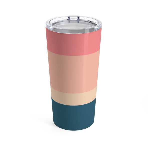 Striped Drink Tumbler, 20 oz.