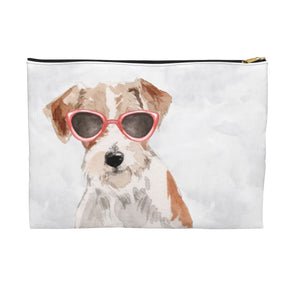 Jack Russell Terrier with Sunglasses Pooch Pouch
