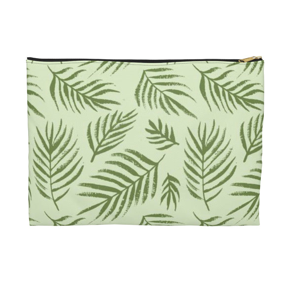 Palm Leaf Accessory Pouch