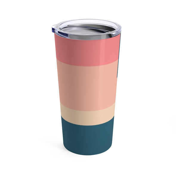 Personalized Striped Drink Tumbler, 20 oz.