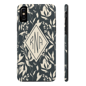 Personalized Botanicals Phone Case