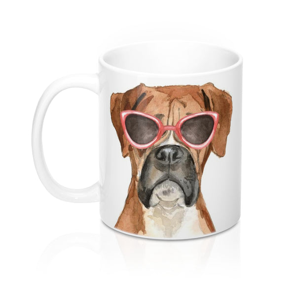 Boxer Coffee Mug, 11 oz