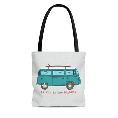 Van Life Road Trip Tote Bag