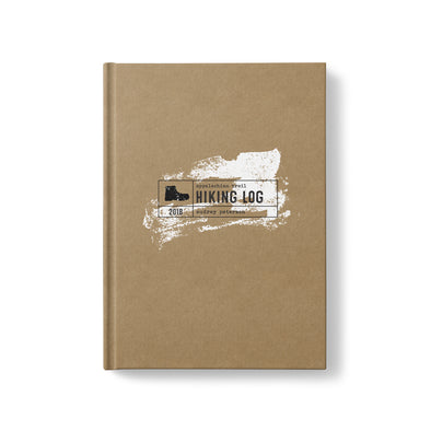 Hardcover Personalized Hiking Journal